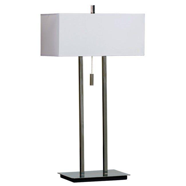 Emilio Table Lamp (Chrome)