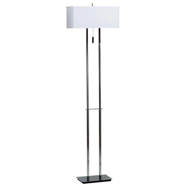 Emilio Floor Lamp (Chrome)