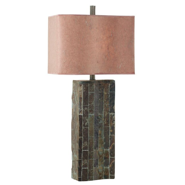 Ripple SlateTable Lamp (Natural Slate)