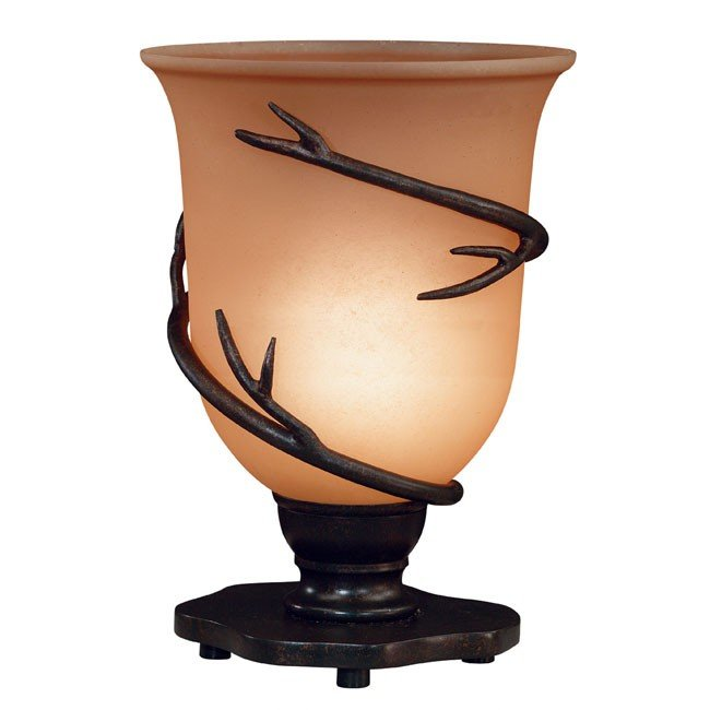 Twigs Table Torchiere (Bronze)