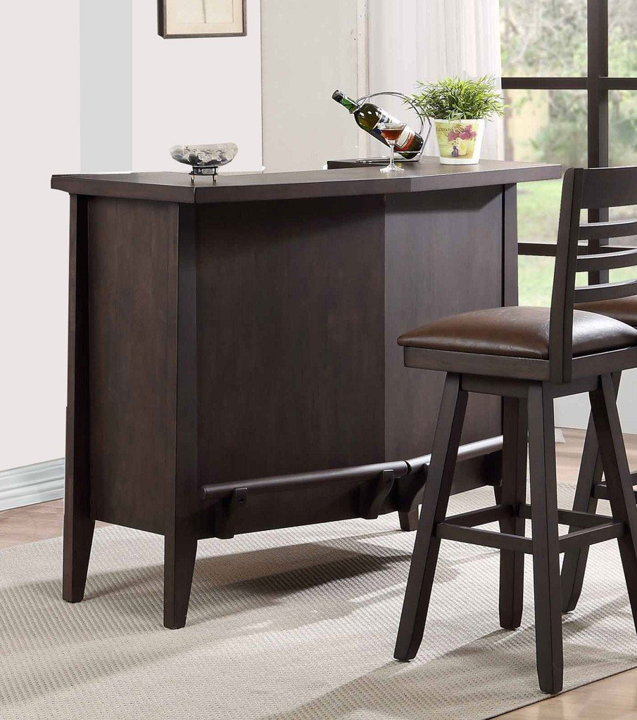 Black Home Bar Furniture: Lexington Home Bar (Black Oak) ECI Furniture