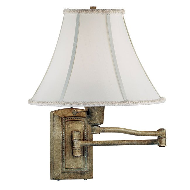 Isabelle Wall Swing Arm Lamp (Seagrass)