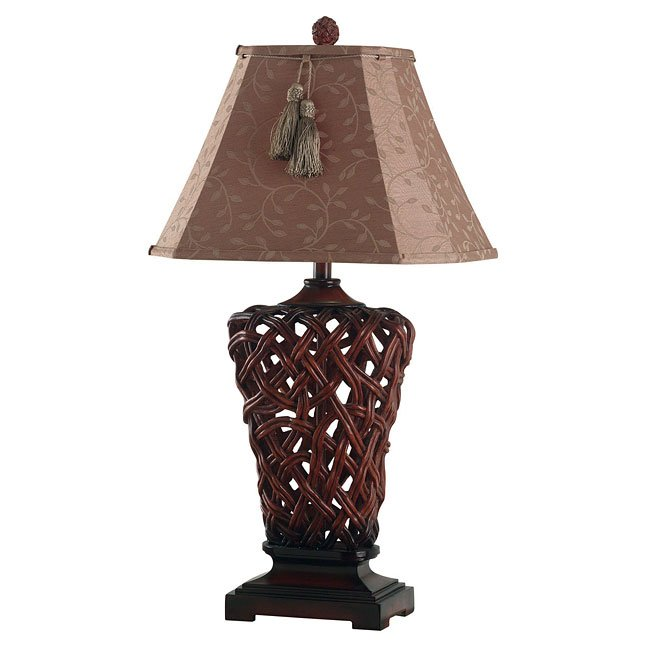 Belize Table Lamp (Rattan)