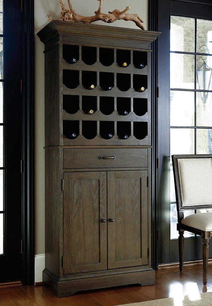 Great Rooms Berkeley 3 Tall Wine Cabinet (Brownstone)