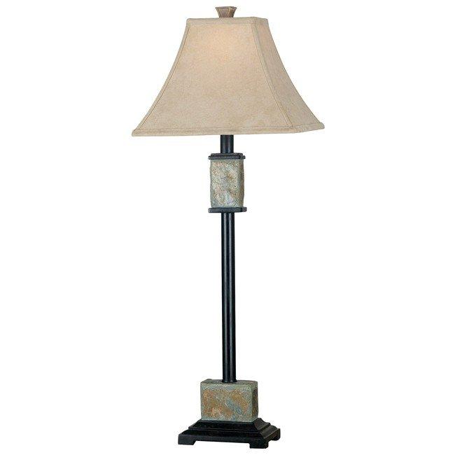 Bennington Buffet Lamp 2-Pack (Natural Slate)