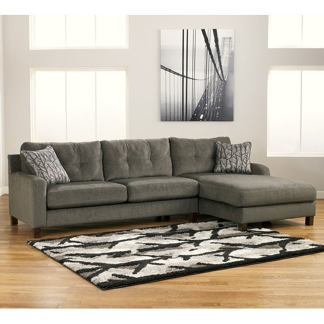 Siroun - Steel Sectional Living Room Set by Signature ...