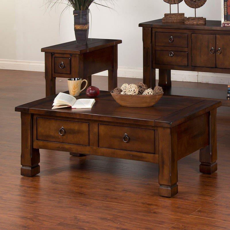 Santa Fe Rectangular Coffee Table