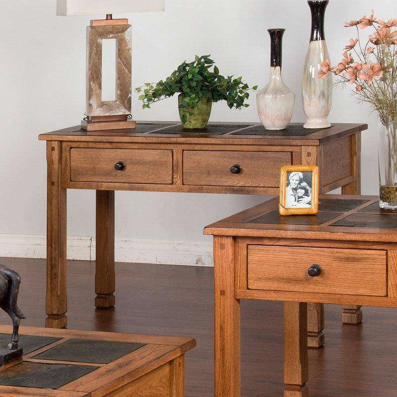 Etonnant Sedona Slate Top Sofa/Console Table
