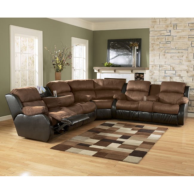 Presley - Espresso Reclining Sectional