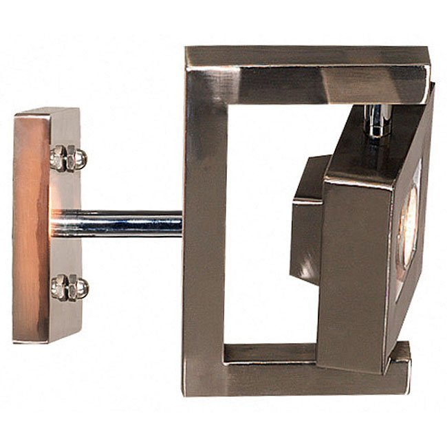Geometry 1 Light Sconce (Brushed Steel)