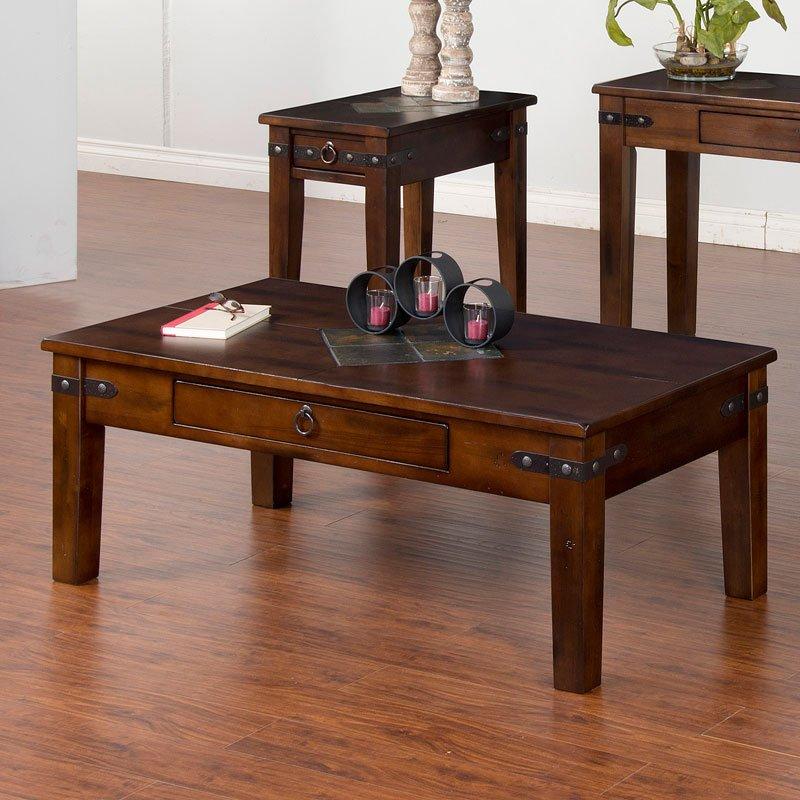 Santa Fe Tapered Leg Coffee Table