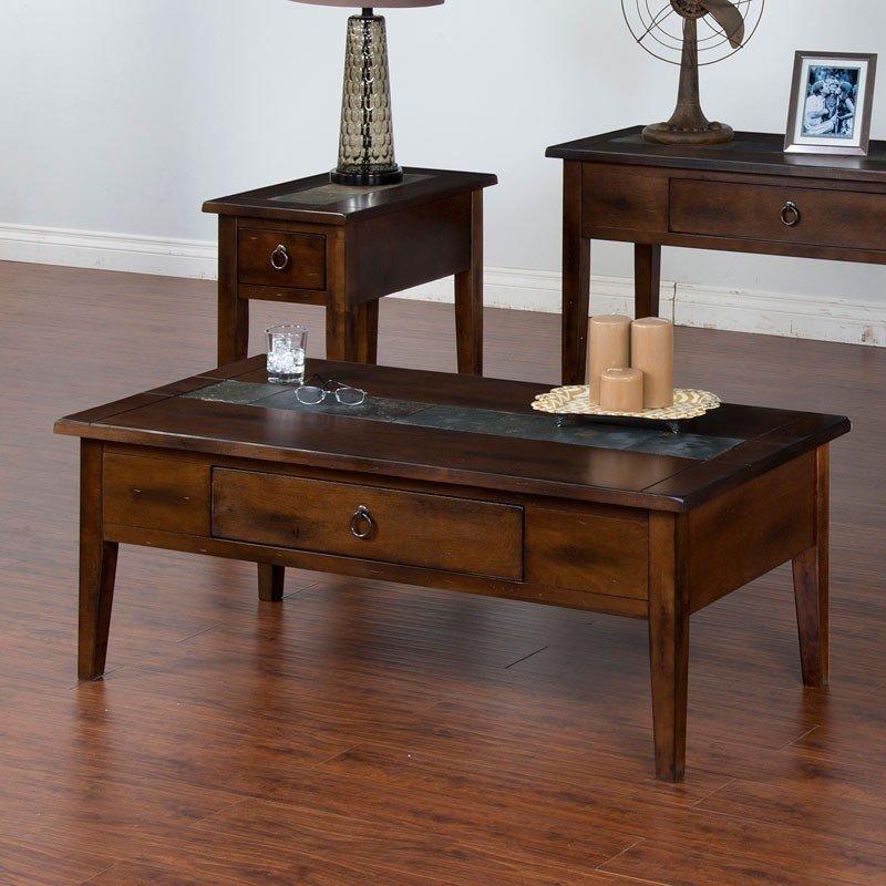 Santa Fe Leg Coffee Table