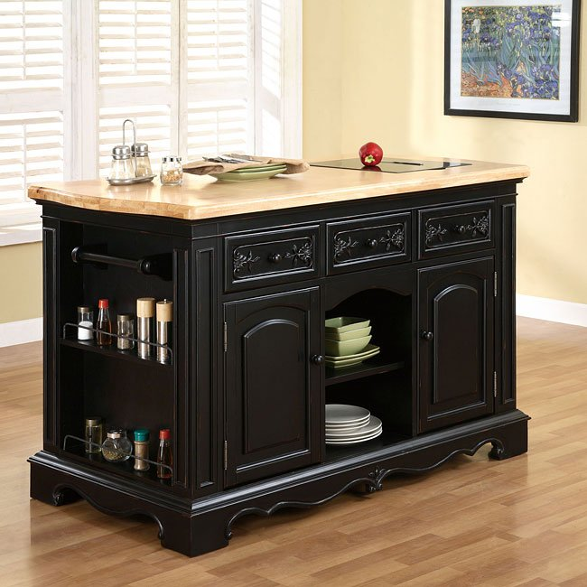 Pennfield Kitchen Island Powell Furniture Furniture Cart