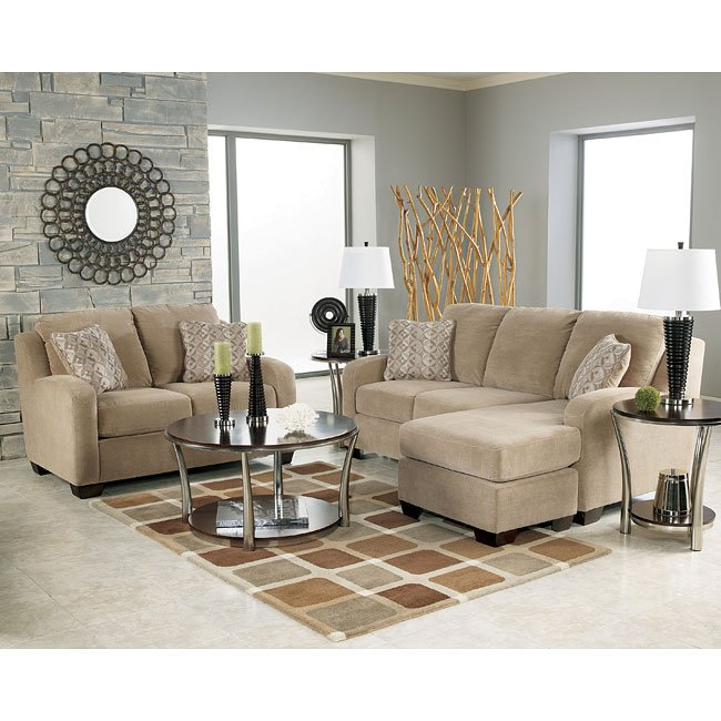 Taupe Living Room Set Signature Design By Ashley