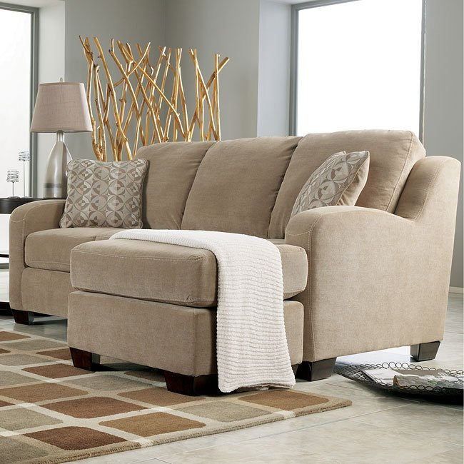 Circa - Taupe Sofa Chaise Queen Sleeper