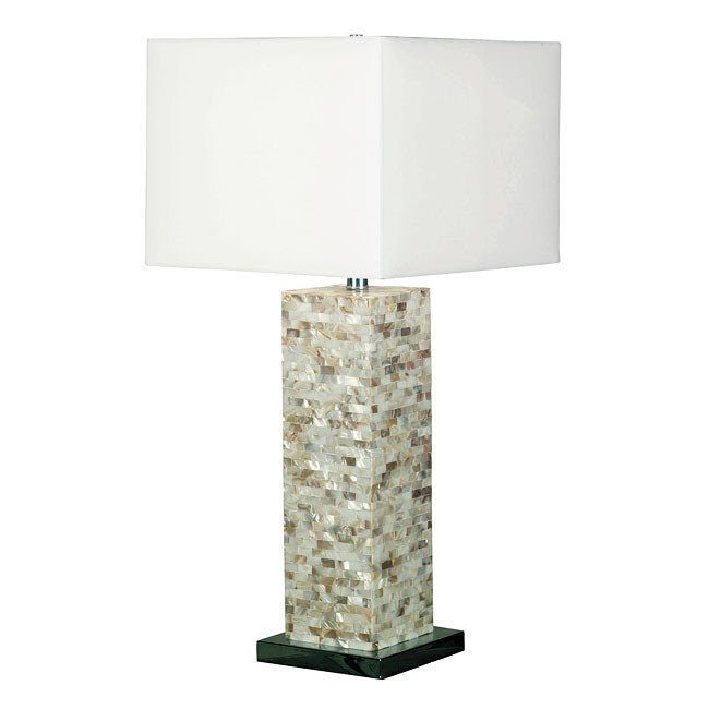 Pearl Table Lamp (Mother of Pearl)
