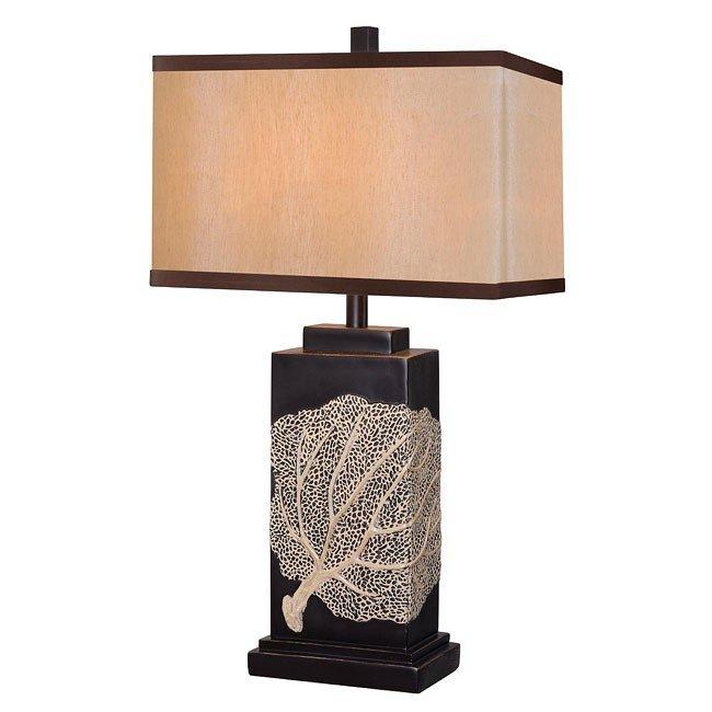 Sea Fan Table Lamp Oil Rubbed Bronze