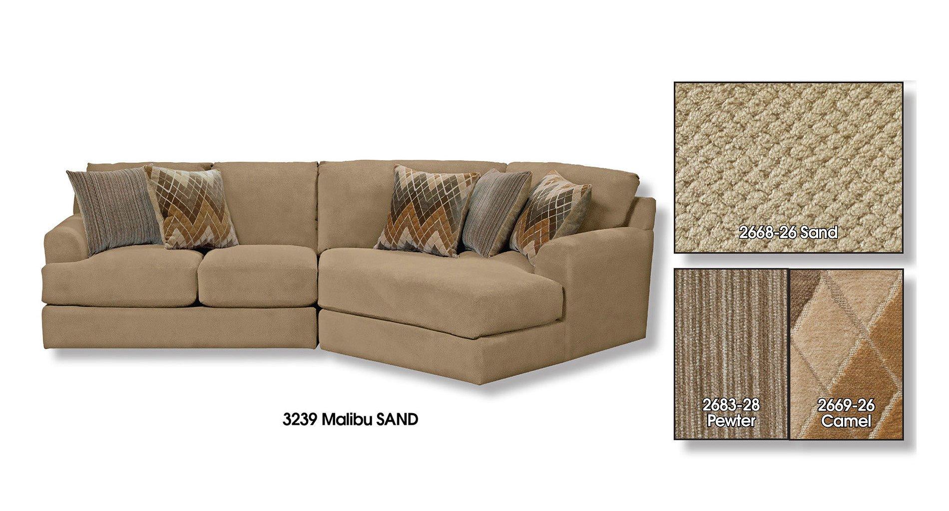 Malibu Modular Sectional (Sand) Jackson Furniture ...