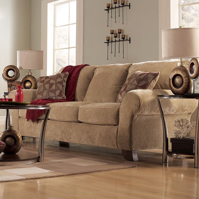 Townhouse - Tawny Queen Sofa Sleeper