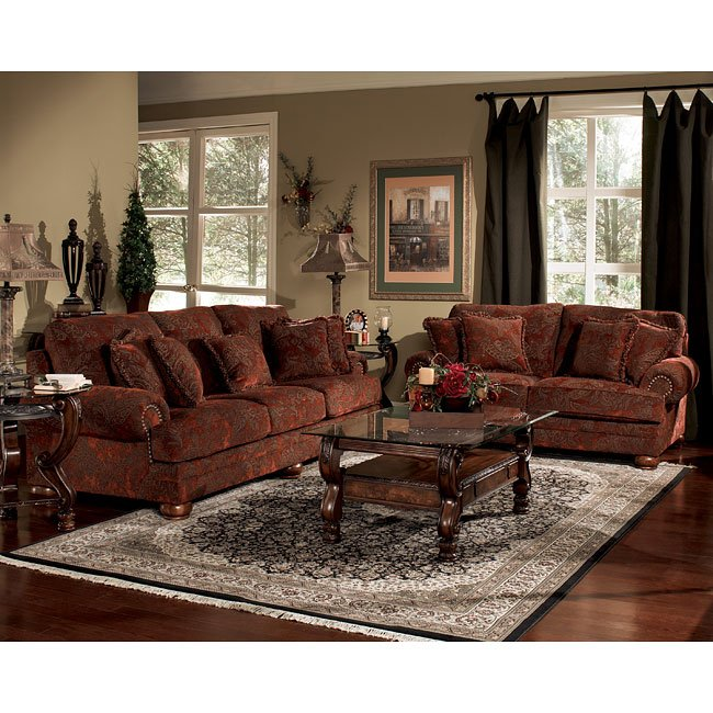 Burlington Sienna Living Room Set Signature Design By Ashley 1