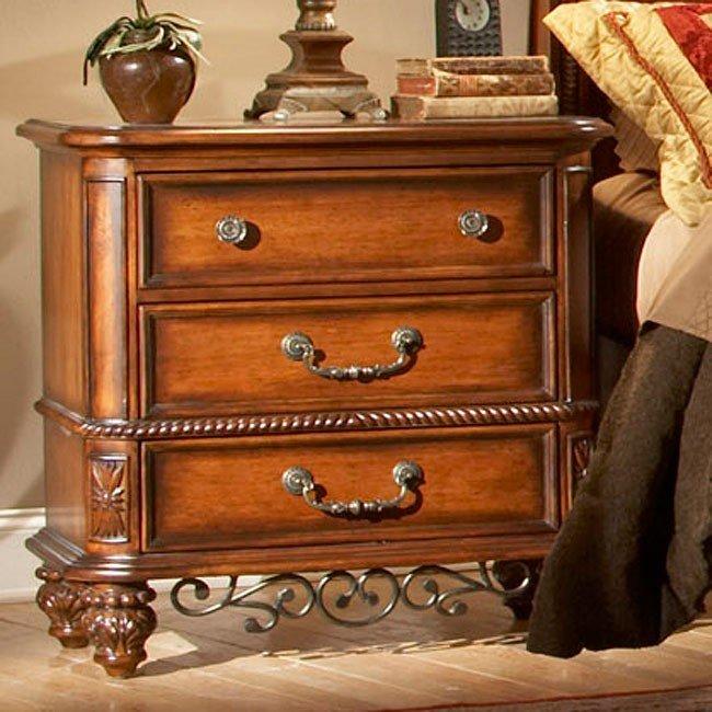 Tuscany Nightstand Fairfax Home Furnishings