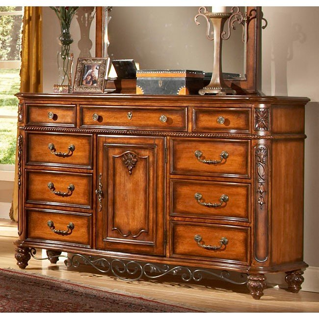 Tuscany Bedroom Furniture: Tuscany Dresser Fairfax Home Furnishings