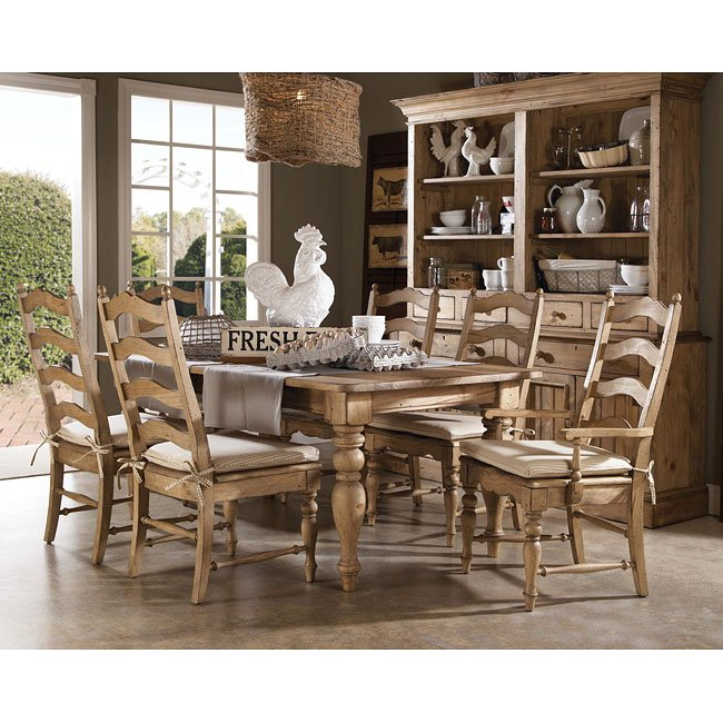 Homecoming Farmhouse Dining Room Set Vintage Pine