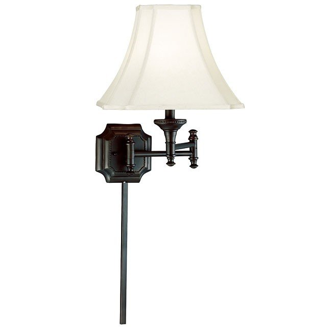 Wentworth Wall Swing Arm Lamp (Burnished Bronze)