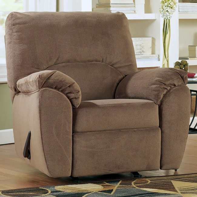 Macie - Brown Rocker Recliner