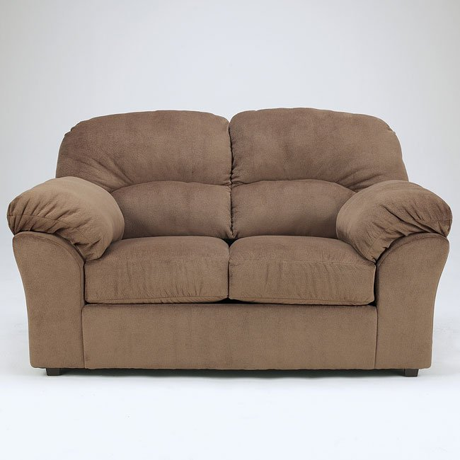 Macie - Brown Loveseat