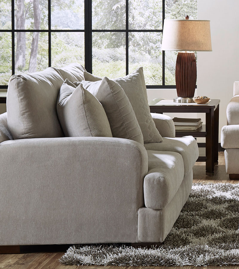 Gabrielle Living Room: Gabrielle Loveseat (Oyster) Jackson Furniture