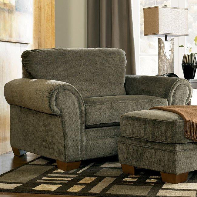 Kirkwood - Charcoal Chair and a Half