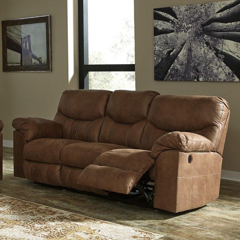 Boxberg Bark Power Reclining Sofa Signature Design