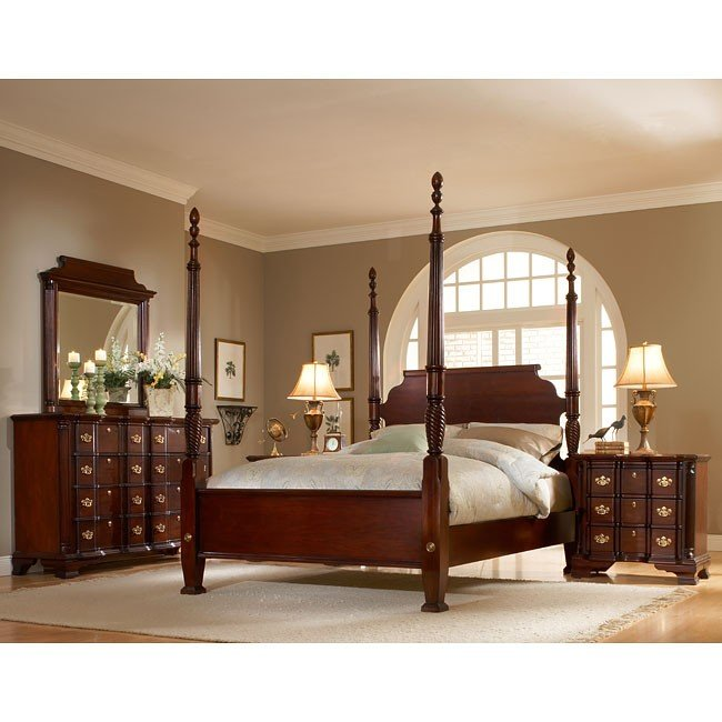 American Tradition Furniture Collection: Lasting Traditions Bedroom Set American Woodcrafters