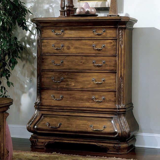 Tuscano Mansion Bedroom Set Aico Furniture | Furniture Cart