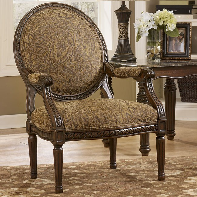 Cambridge - Amber Showood Accent Chair