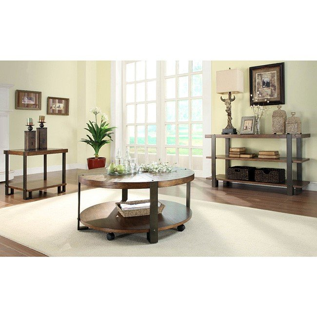 Northwood Round Occasional Table Set