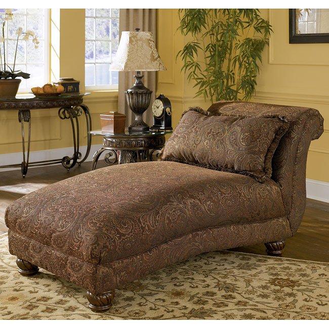 Wilmington - Walnut Chaise