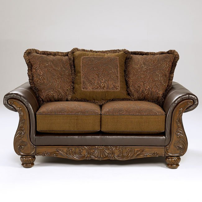 Wilmington - Walnut Loveseat
