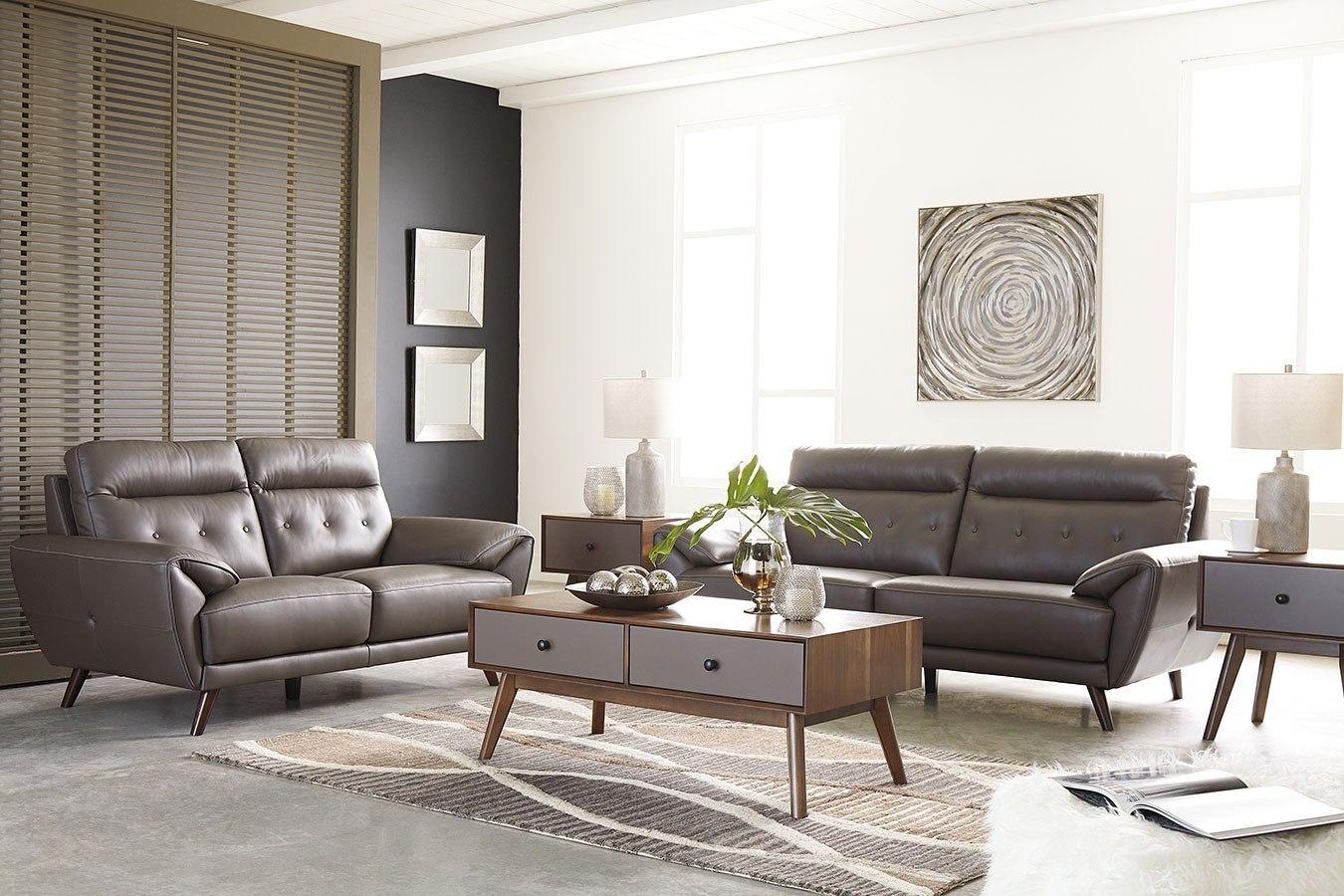 Sissoko Gray Living Room Set Signature Design