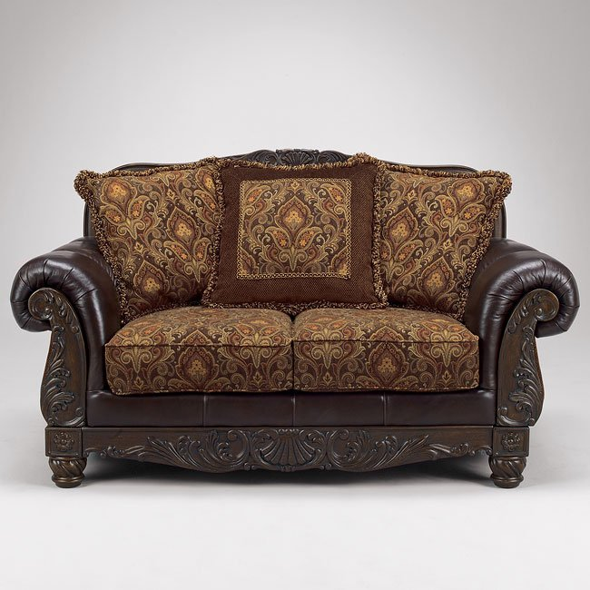 Francesca Truffle Loveseat By Signature Design