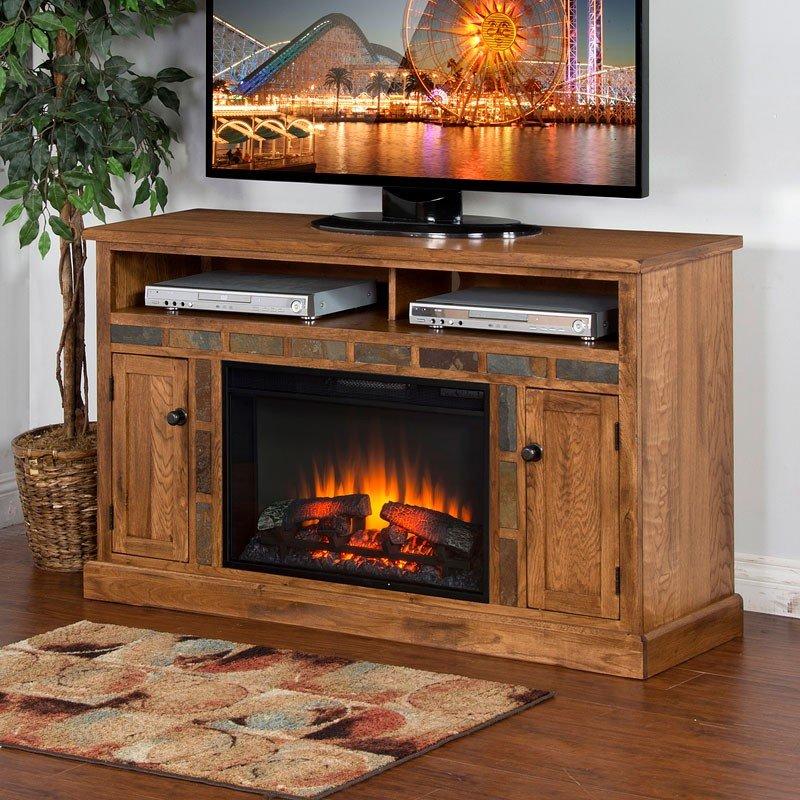 Sedona 54 Inch Fireplace TV Console