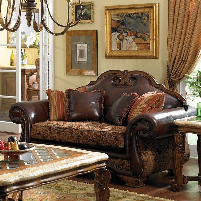 Tuscano living room set brick aico furniture furniture cart for Aico furniture living room set