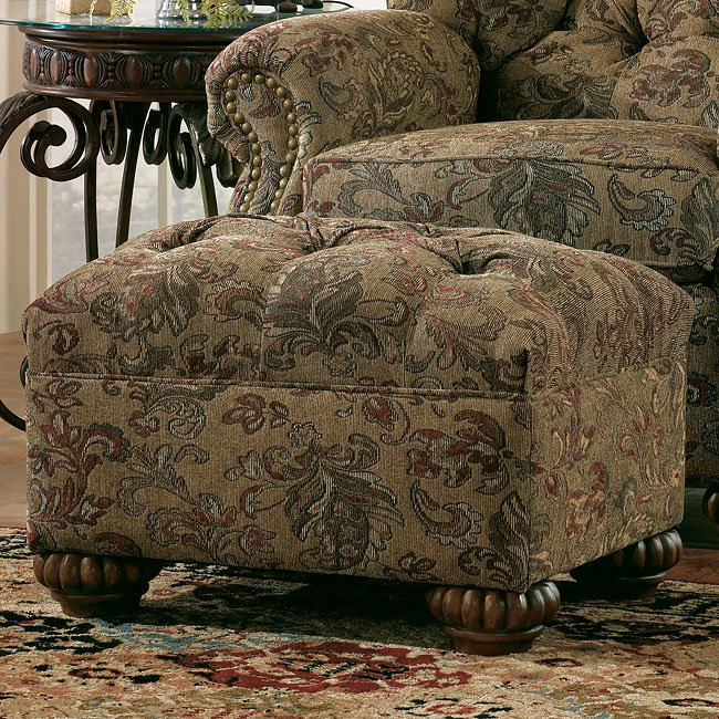 Westbrook - Multi Accent Ottoman