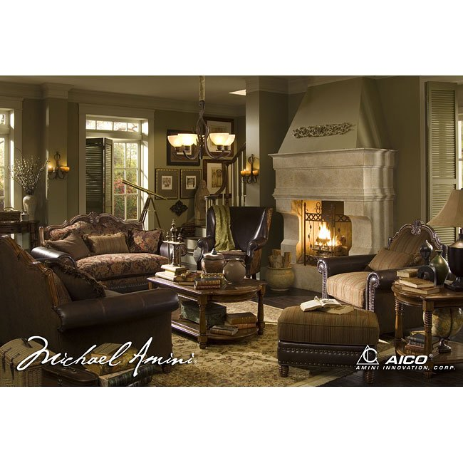 Sedgewicke living room set aico furniture furniture cart for Aico furniture living room set