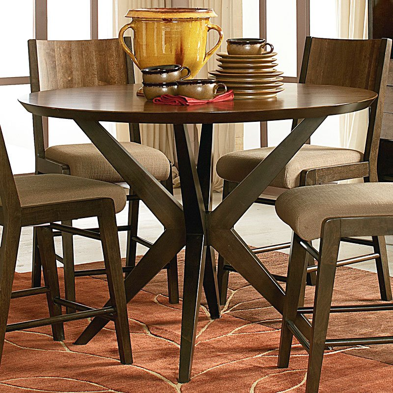 kateri round pub table legacy classic furniture cart. Black Bedroom Furniture Sets. Home Design Ideas