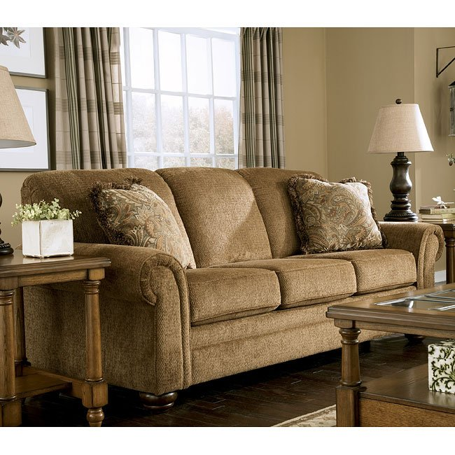 Lowery - Nutmeg Queen Sofa Sleeper