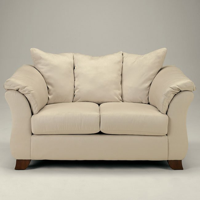 Durapella - Oyster Loveseat