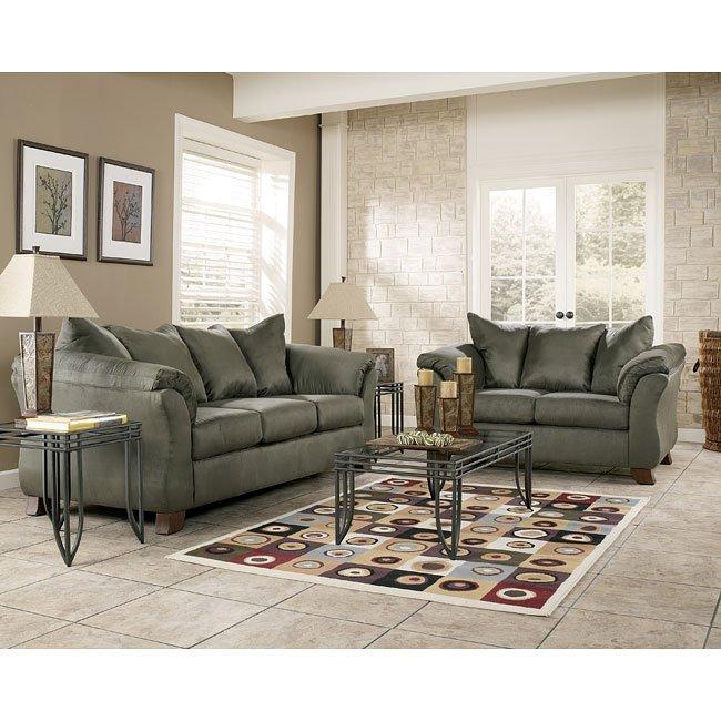 durapella  sage living room set signature design