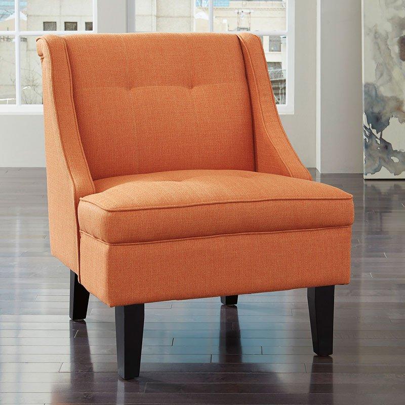 Craigslist Orange County Accent Chair: Clarinda Orange Accent Chair Signature Design